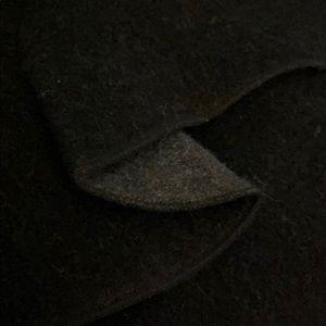 Other Stories Wool Blend Ruffle Clutch Back Zipper